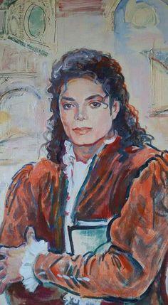 Art with Soul - by Cristina Oprisenescu Michael Jackson Painting, Michael Jackson Drawings, Michael Jackson Bad Era, Michael Art, Michael Love, Freddie Mercury Michael Jackson, Michelangelo, Invincible Michael Jackson, Jackson Family