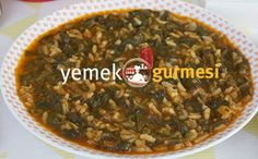 Pirinçli Ispanak Yemeği - http://www.yemekgurmesi.net/pirincli-ispanak-yemegi.html