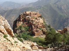 Village berbère - Tafraout Maroc