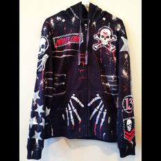 Horror Hoodie 13 from Chad Cherry by ChadCherryClothing on Etsy