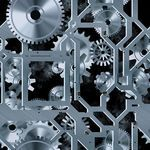 Mechanical art stock photos and images