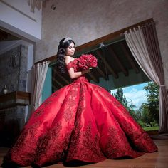 Check out Cielo Inzunza's fabulous work and make sure to follow her on Instagram for details on how to order one of her dramatic Quinceanera dresses!