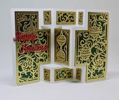 Created by using the Die'sire Kinetic Dies by #crafterscompanion