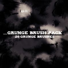 Grunge Pack 3 - Download  Photoshop brush http://www.123freebrushes.com/grunge-pack-3/ , Published in #GrungeSplatter. More Free Grunge & Splatter Brushes, http://www.123freebrushes.com/free-brushes/grunge-splatter/ | #123freebrushes