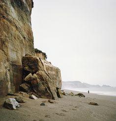 Pacific northwest / Pacific Ocean / Oregon, US / Blacklock Point