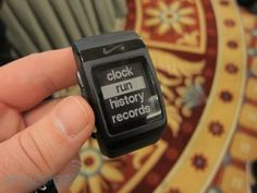 Nike+ SportWatch GPS with TomTom hands-on -- Engadget $165