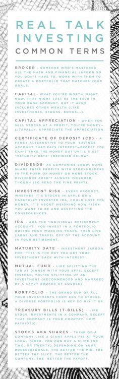 401Ks? T-bills? Stocks and bonds? Portfolios? Yeah, you've got this.