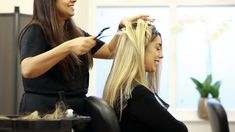 Our skilled technicians will custom-fit your completely individual system, our stylists will help make sure you leave our salon looking great and feeling happy and confident again #femalehairloss #hairsystem #hairlosssolution