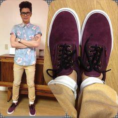 Vhong Navarro Vhong Navarro, Men's Style, Men's Fashion, Outfit Ideas, Vans, Nice, Sneakers, Places, How To Wear