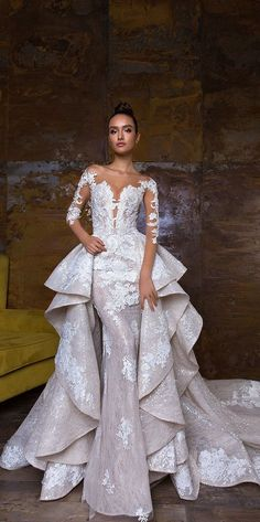 a97b230251 11 best DETACHABLE WEDDING SKIRT images in 2016   Alon livne wedding ...