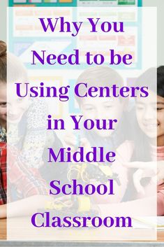 Why You Need to Be Using Centers in Your Middle School Classroom | Teacher Blogger #learnmath