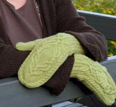 "I would like to make these, but use a much heavier, worsted weight yarn for our ""deeply-polar"" winters!"