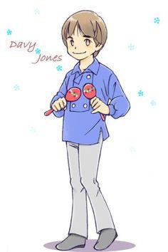 Davy Jones animated