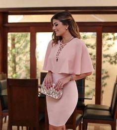 Use a pink dress for a stylish and cool result. Elegant Dresses, Cute Dresses, Beautiful Dresses, Casual Dresses, Short Dresses, Fashion Dresses, Mini Dresses, The Dress, Dress Skirt