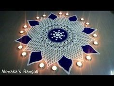 Latest Best Award Winning Rangoli Designs for Diwali with Diya & Flower Themes for Competitions, Simple Easy Deepavali Rangoli Patterns, Beautiful HD Images Easy Rangoli Designs Diwali, Rangoli Simple, Simple Rangoli Designs Images, Rangoli Designs Latest, Rangoli Designs Flower, Free Hand Rangoli Design, Rangoli Border Designs, Small Rangoli Design, Colorful Rangoli Designs