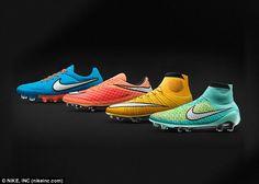 The likes of Wayne Rooney, Neymar and Zlatan Ibrahimovic will be wearing Nike's new range...