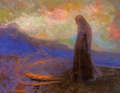 Reflection - Odilon Redon - WikiPaintings.org