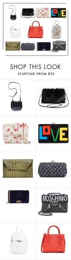 """""""Women wallets"""" by jamuna-kaalla ❤ liked on Polyvore featuring Ann Demeulemeester, Torrid, RED Valentino, Les Petits Joueurs, Oliveve, M Missoni, Rebecca Minkoff, Moschino, Mansur Gavriel and Kate Spade"""