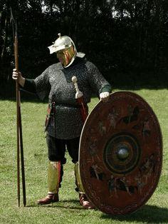 Legionary 3rd century AD reenacment