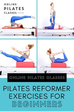 Pilates on the Reformer is more than just a great way to work your muscles. It's also an excellent way to learn more about how you connect to your body and more. Pilates Body, Pilates Reformer Exercises, Fitness Exercises, Pilates Workout, Fitness Facts, Fitness Tips, Fit Board Workouts, At Home Workouts, Lifestyle Group