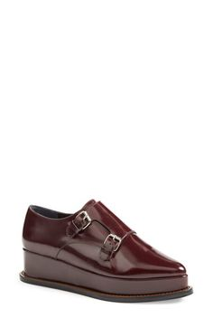 Opening Ceremony Opening Ceremony 'Eleanora' Monk Strap Platform Wedge (Women) available at #Nordstrom