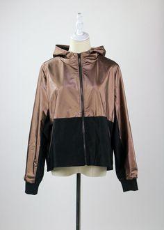 Bronze is the New Gold Jacket Gold Jacket, Distressed Black Jeans, Striped Leggings, Girl Gang, Old School, Adidas Jacket, Rain Jacket, Windbreaker, Bodysuit