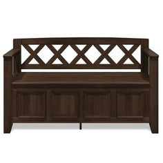 WYNDENHALL Halifax SOLID WOOD 48 inch Wide Transitional Entryway Storage Bench - 48 Inches wide - On Sale - Overstock - 7326885 Entryway Bench Storage, Bench With Storage, Thing 1, Extra Seating, Solid Wood, Living Spaces, Interior, Furniture, Mudroom