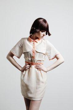 Moderato Dress  IVORY by @FreaksKIMTAEHOON on Etsy, $149.00 #fashion #dress #handmade #modern #style