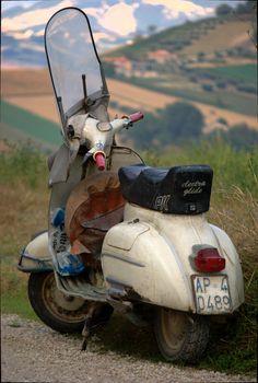 A website dedicated to Vespa and Lambretta scooters. Scooters Vespa, Motos Vespa, Vespa Ape, Lambretta Scooter, Scooter Motorcycle, Motor Scooters, Classic Vespa, Classic Cars, Side Car