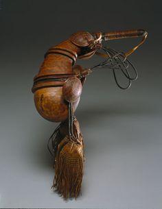 Powder horn, 18th century Africa.