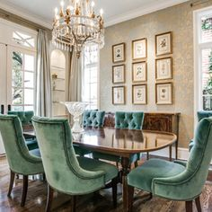 Traditional Dining Room by JD Smith Custom Homes