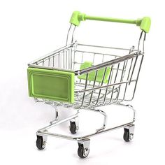 Mini Stainless Steel Supermarket Handcart
