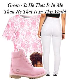Greater~~ by be-you-tiful-flower on Polyvore featuring polyvore, mode, style, Glamorous and Timberland