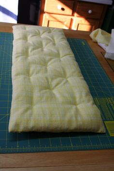 Super Mom – No Cape! » Blog Archive » How to Make Bedding for a Doll Cradle