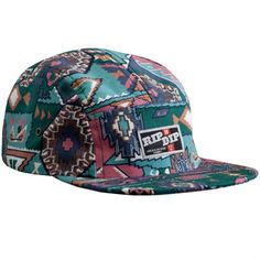ripndip aztec camp cap 1 #ripndip #fivepanel #5panel