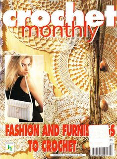 Crochet Monthly Magazine : of crochet spring 2016 ???? ???? more love of crochet ...