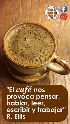 """""""El café nos provoca pensar, hablar, leer, escribir y trabajar"""" R.Ellis. Y en QuisQueya eco-arte-café lo llevamos a la práctica desde las 9 pm, de jueves a sábado, excepto festivos o vacaciones. ¡Nos encanta!"""