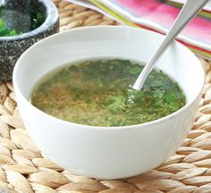 Simple herb marinade Give your fish or chicken a lift this summer with this simple herb marinade.