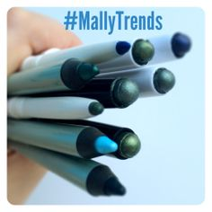 LOVING these bold and fun eyeliners and shadow sticks! #MallyTrends
