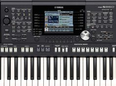 Yamaha PSR-S950 Display