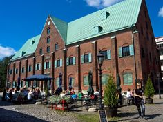 One of few surviving century buildings in Gothenburg: the former artillery Kronhuset from Photo: Kjell Holmner Round Building, Small Courtyards, Take The Stairs, Shopping Street, Park City, Great View, Night Life, Places To See, Beautiful Places