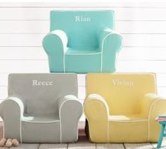 love these personalized kids chairs http://rstyle.me/n/j9kq9r9te