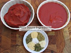 Pizza Sauce (Low carb, Paleo, Gluten Free) | Peace, Love, and Low Carb