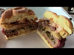 Jalapeno Stuffed Cheese Burger - A awesome smokey burger recipe - YouTube