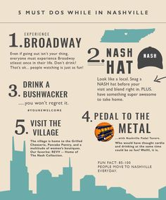 So, we all know Nashville is pretty much an IT city right now. With so many things to do, places to go, and bars to hop....we totally get why nearly everyone is