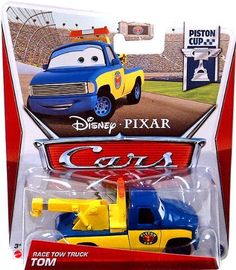 disney pixar cars movie 155 die cast car race tow truck tom - Cars The Movie 2 Characters