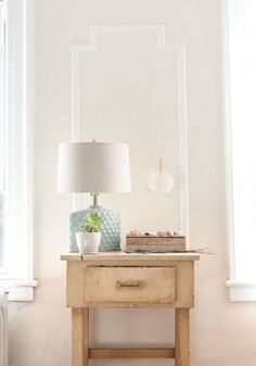 lamp, moldings, vignette ...design sponge