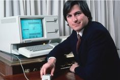 """Steve Jobs~making computers sexy since 1977 """"Take a bite out of an apple"""""""
