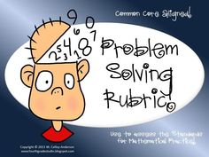 I love to blog about and create products to help my students with problem solving! Here is a freebie that might help you out as well! Enjoy!