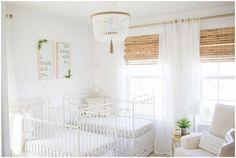Gender Neutral Twin Nursery Tour Northern Virginia Premier Birth Photographer and Newborn Photograph